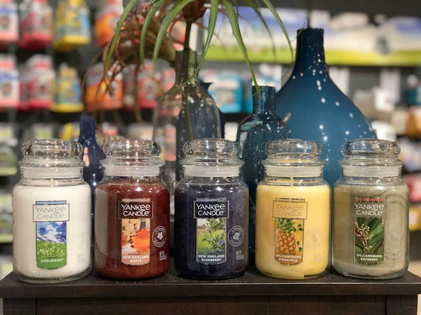 I negozi Yankee Candle offrono una vastissima scelta