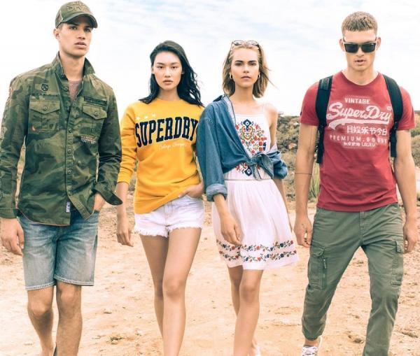 Superdry abbigliamento urban chic trendy e casual
