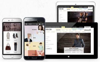 Screenshot della app mobile per iOS e Android Yoox