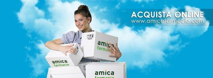 Gli acquisti sul sito amicafarmacia.com