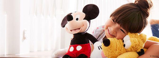 Mickey mous, pluto e tanti altri personaggi su shopDisney.