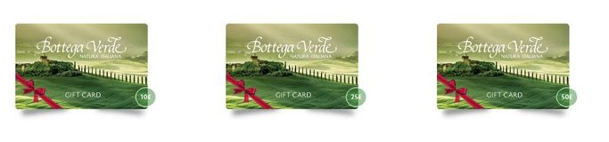 La Gift Card Bottega Verde