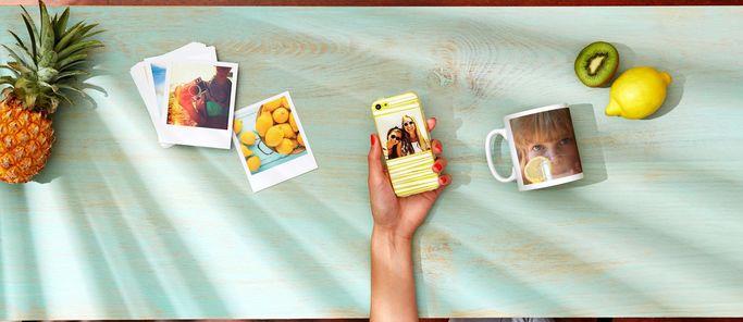 Stampe, fotolibri e gadget per condividere le proprie foto