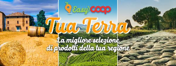 EasyCoop Tua Terra la migliore selezione di prodotti della tua regione