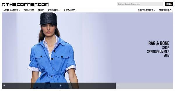 Homepage italiana di thecorner.com