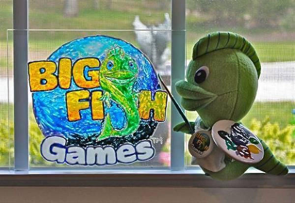 La mascotte di Big Fish Games