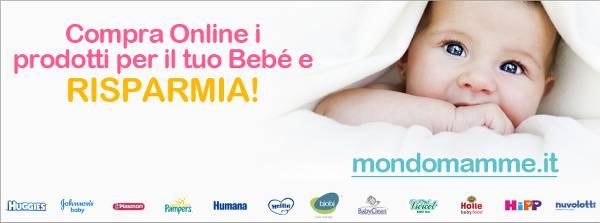 Mondo Mamme, il portale per risparmiare online sui prodotti per bebè