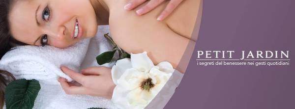 Cosmetici naturali per un corpo in salute e bello prodotti da Petit Jardin