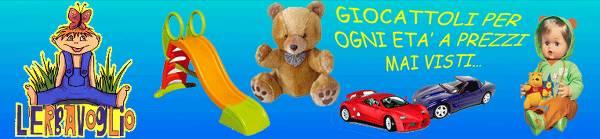 L'Erbavioglio giocattoli: un mondo di divertimento per i bambini di ogni età