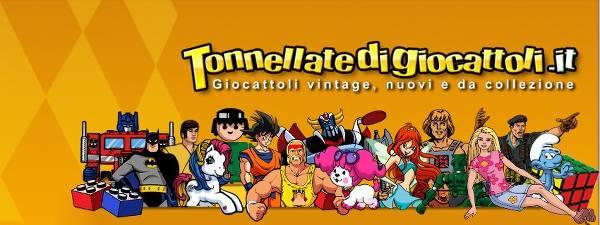 Tonnellate di Giocattoli vintage e da collezione