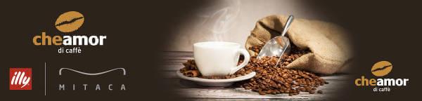 Capsule di caffè o tè per i sistemi Illy e Mitaca