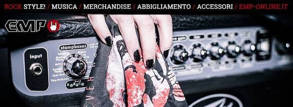 L'e-commerce rock specializzato in merchandise