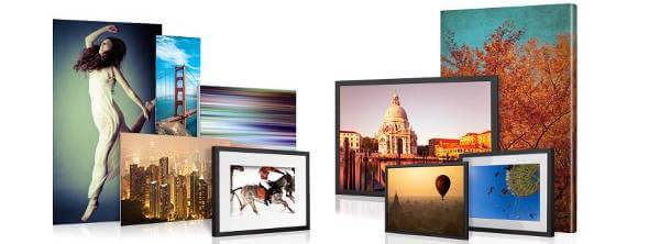 Stampe fotografiche su alluminio, plexiglass o tela con WhiteWall