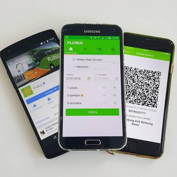 Le App per telefoni mobili