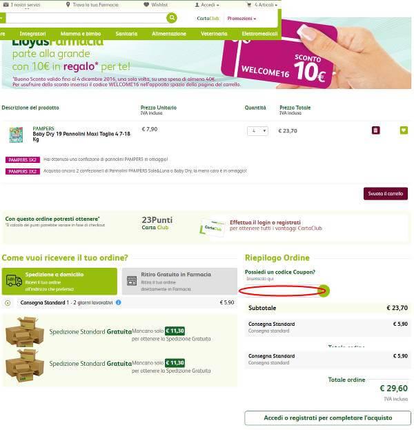 Come risparmiare con un codice LloydsFarmacia