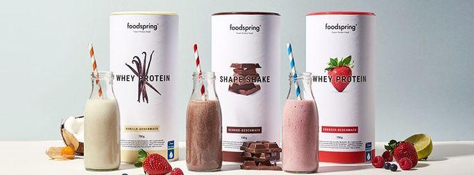 Foodspring - negozio online per l'alimentazione sportiva