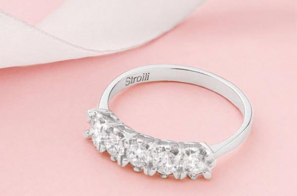Stroili Oro collezione Diamazing oro bianco 18kt diamanti 0,50 ct