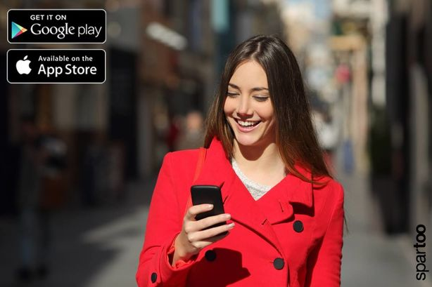 Spartoo è anche app per smartphone e tablet