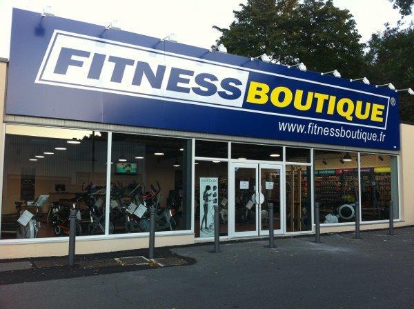 Uno dei negozi fisici del brand Fitness Boutique