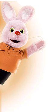 Ancora una volta la mascotte della Duracell