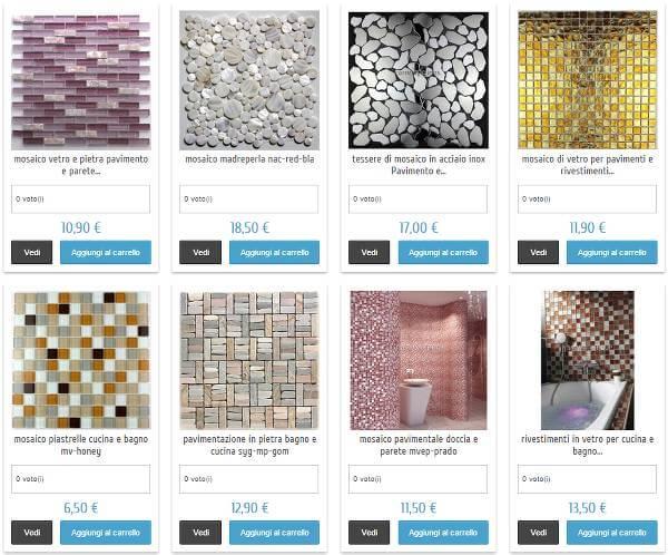 Mosaici e piastrelle per ogni ambiente della casa
