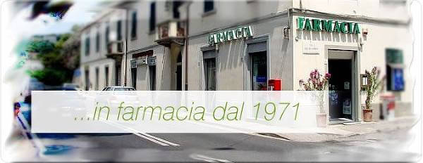 La versione online della farmacia Miliardi di Livorno