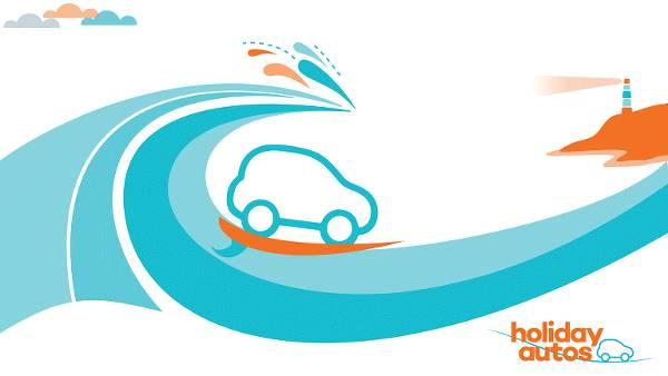 Una delle immagini promozionali utilizzata da Holiday Autos