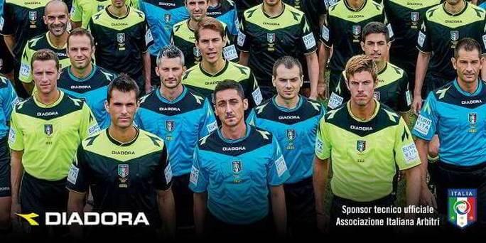Diadora è sponsor dell'Associazione Italiana Arbitri