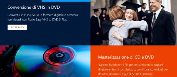 Conversione in DVD dei ricordi più belli