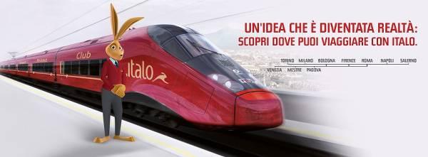 Italo, l'alternativa per i viaggi in treno ad alta velocità