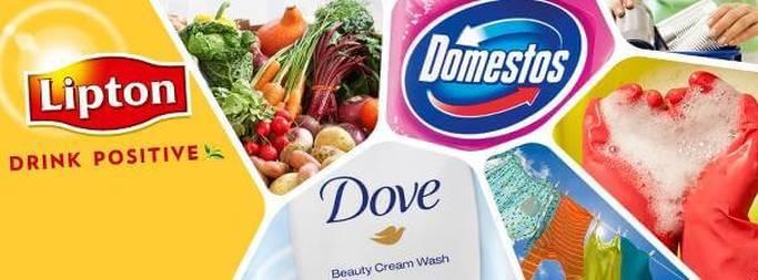 I prodotti Unilever per la cura del corpo, la casa e la tavola
