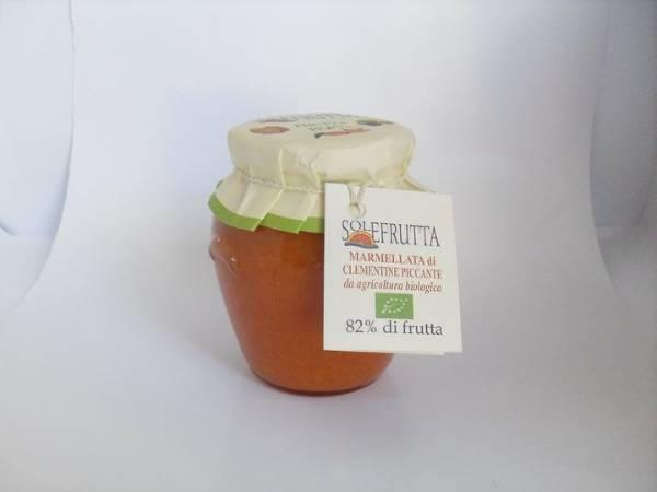 Marmellate Solefrutta con l'82% di frutta italiana