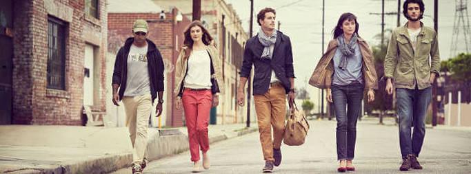 Modelli di abbigliamento outdoor