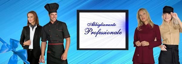 Divise da cuoco e altro abbigliamento professionale in vendita persso l'Atelier del Ricamo