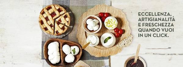 Prodotti freschi e della tradizione italiana in vendita su Primo Taglio