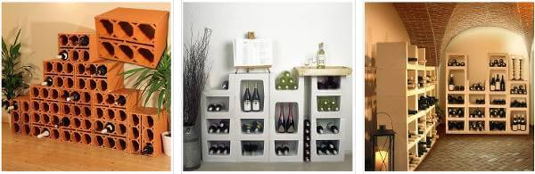 Alcuni dei modelli proposti sul sito cantinetta-vino-plus.it