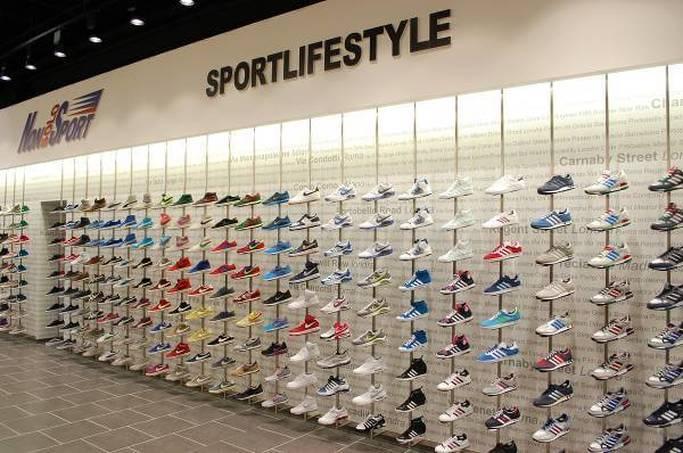 Immagine di uno dei negozi fisici NonSoloSport