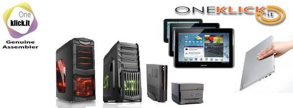 Il lancio sulla rete di Oneclick.it