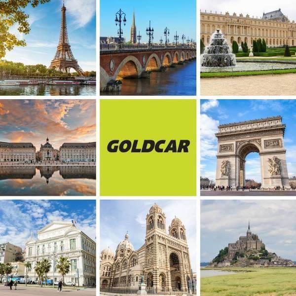 Goldcar: noleggio auto in tutta Europa