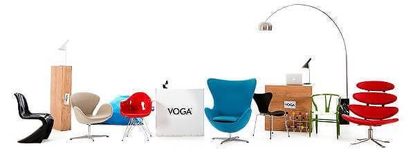 La storia del design per tutti con le riproduzioni VOGA