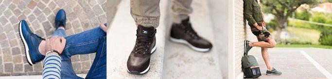 Alcuni degli stili di calzature commercializzati