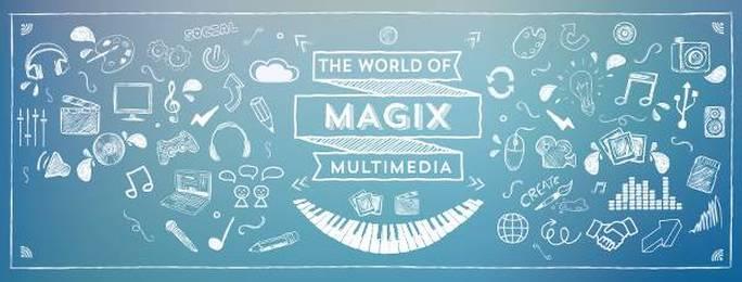 Immagine di Magix e dei settori nei quali è attiva