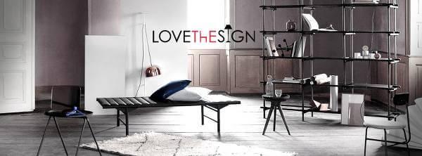 Ambienti colorati e dal design unico con i prodotti LOVEThESIGN