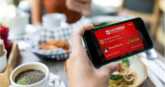 Comprare Carta PerDue dalle App mobili.