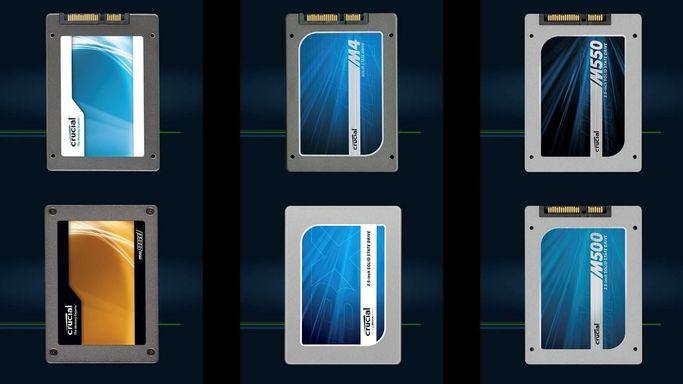 Alcune SSD del catalogo Crucial
