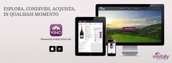 Le app Vinitaly Wine Club per dispositivi iOS e Android