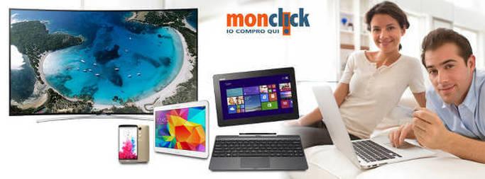 PC, Tv, cellulari ed altro su Monclick