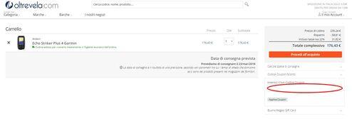 Vento in poppa con il codice sconto Oltrevela.com