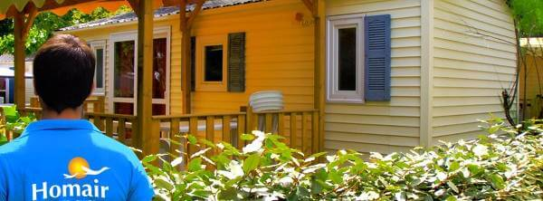Vacanze in campeggi e strutture all'aria aperta