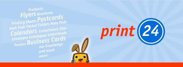 Immagine che elenca alcuni prodotti in vendita su Print24